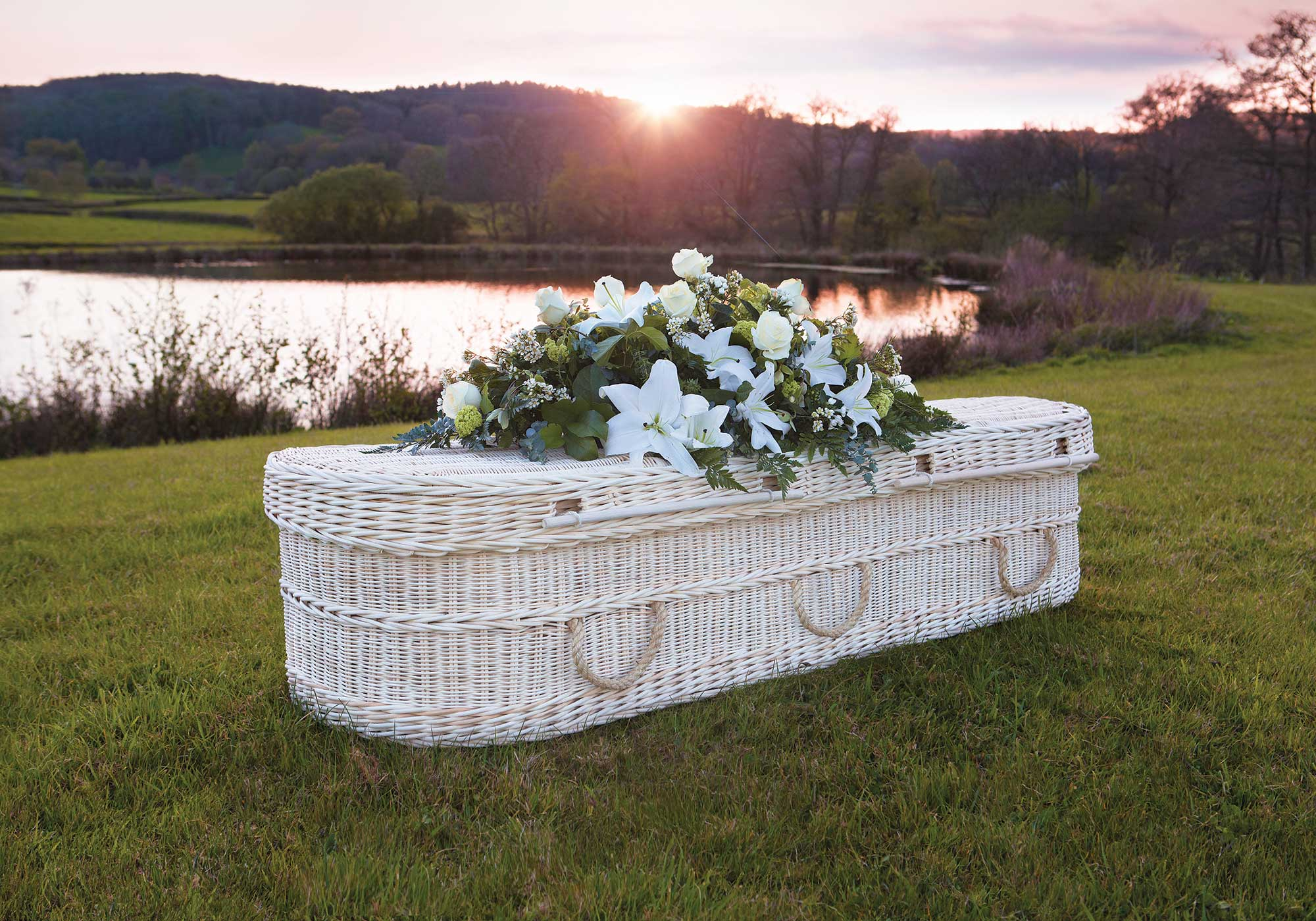 Wicker and Bamboo Coffins