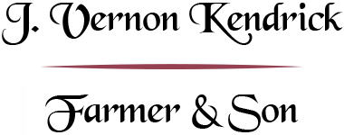 J VERNON KENDRICK & FARMER & SON
